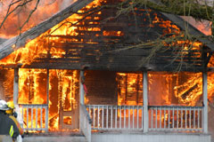 Fire Claims - Home Owners Insurance Claim